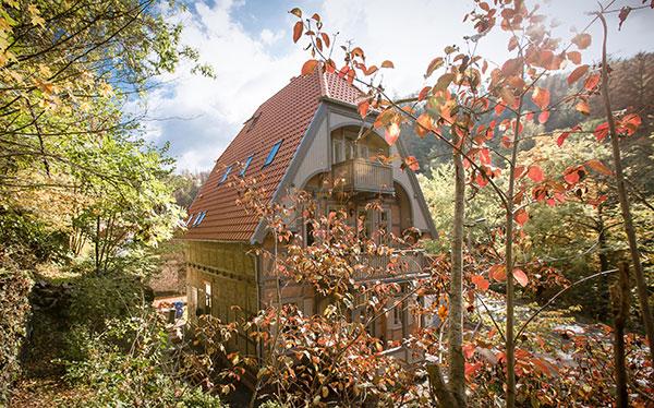 Ganzes Haus Mieten - Ferienhaus Wanderlust Bergdorf Treseburg Harz